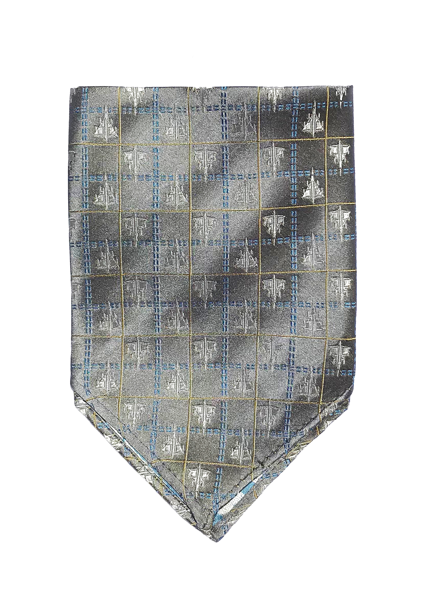 doppeldecker design aviation aircraft airplane pocket square b58 b-58