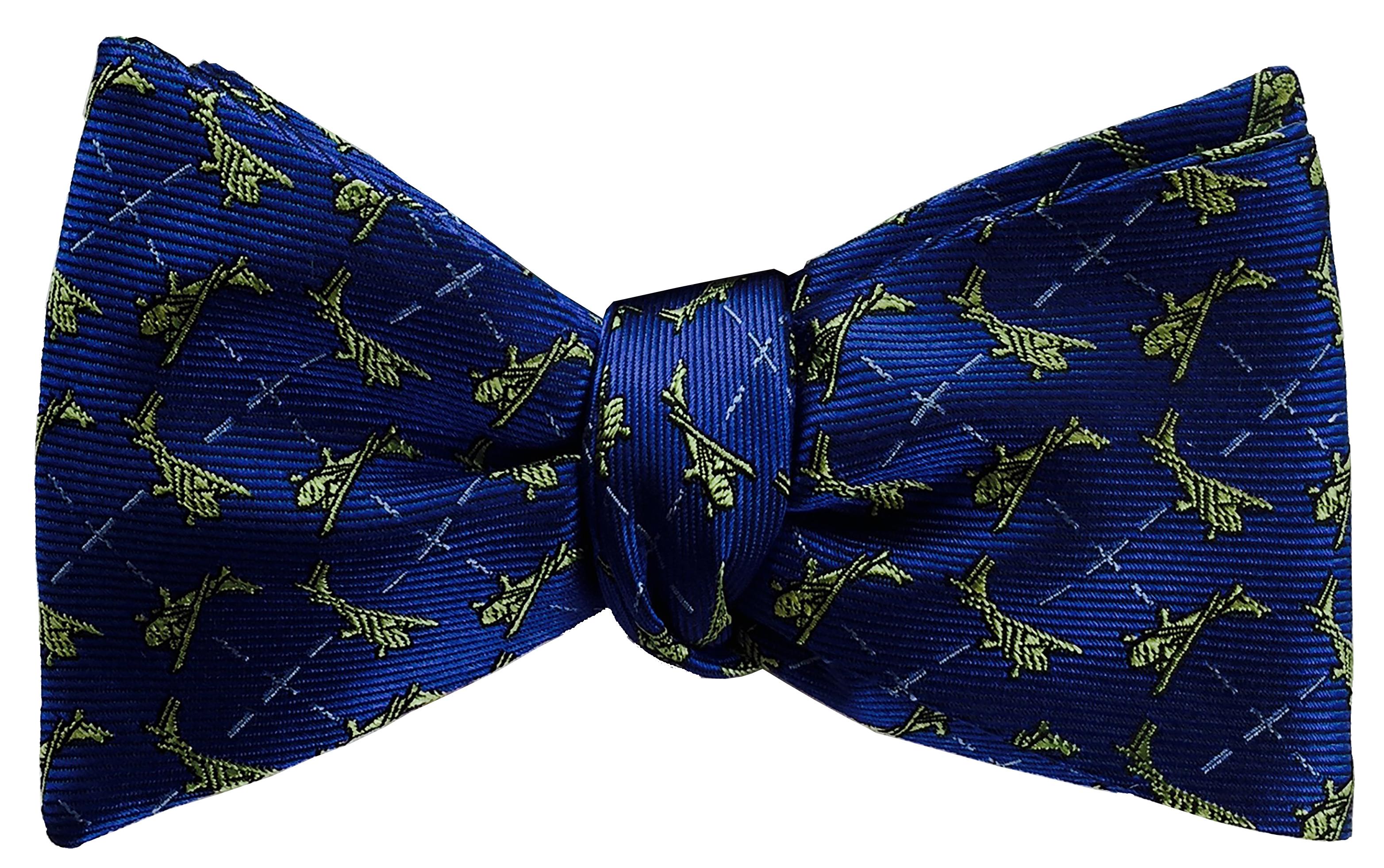 Cessna bow tie in true blue