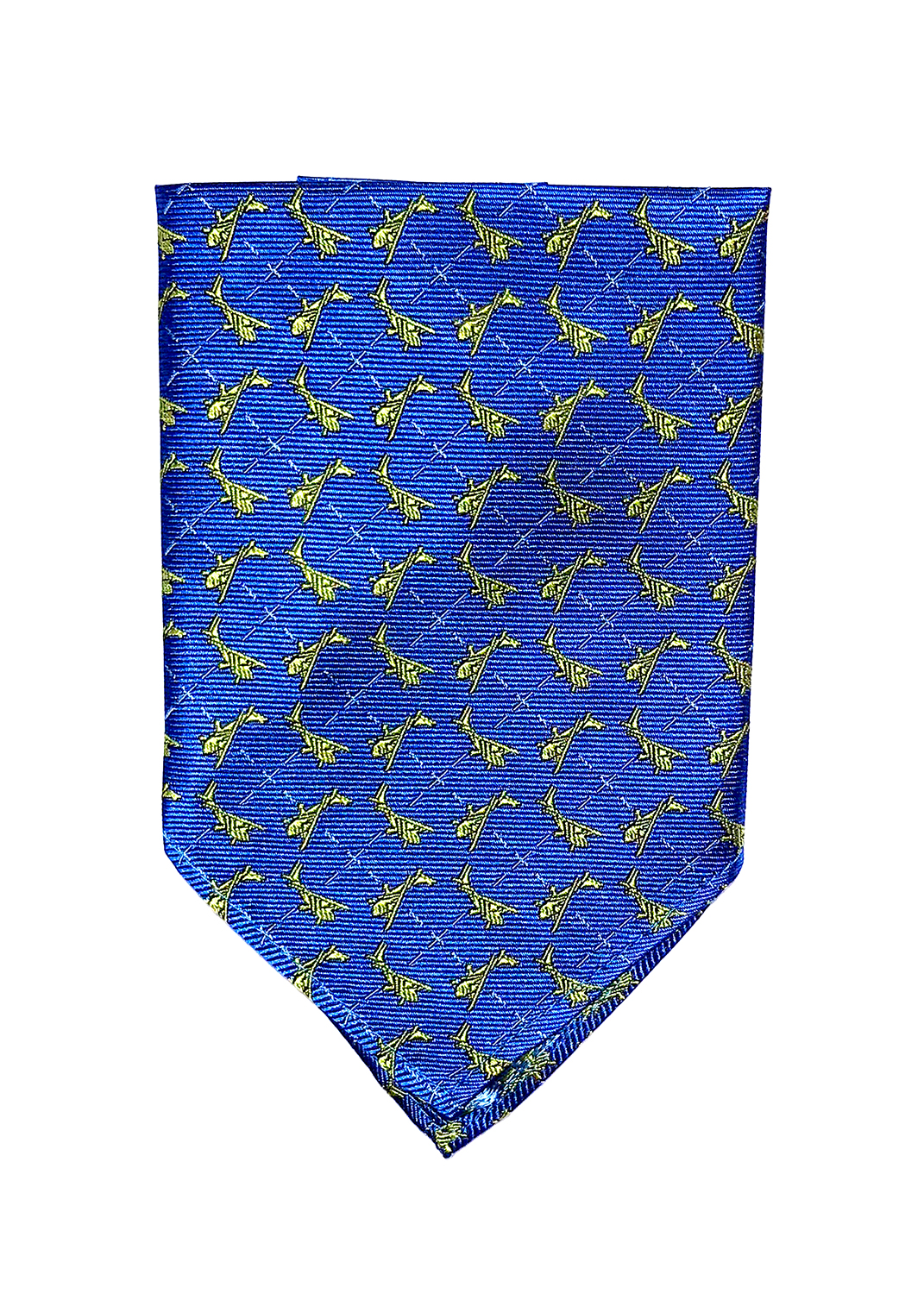 doppeldecker design aviation aircraft airplane pocket square cessna