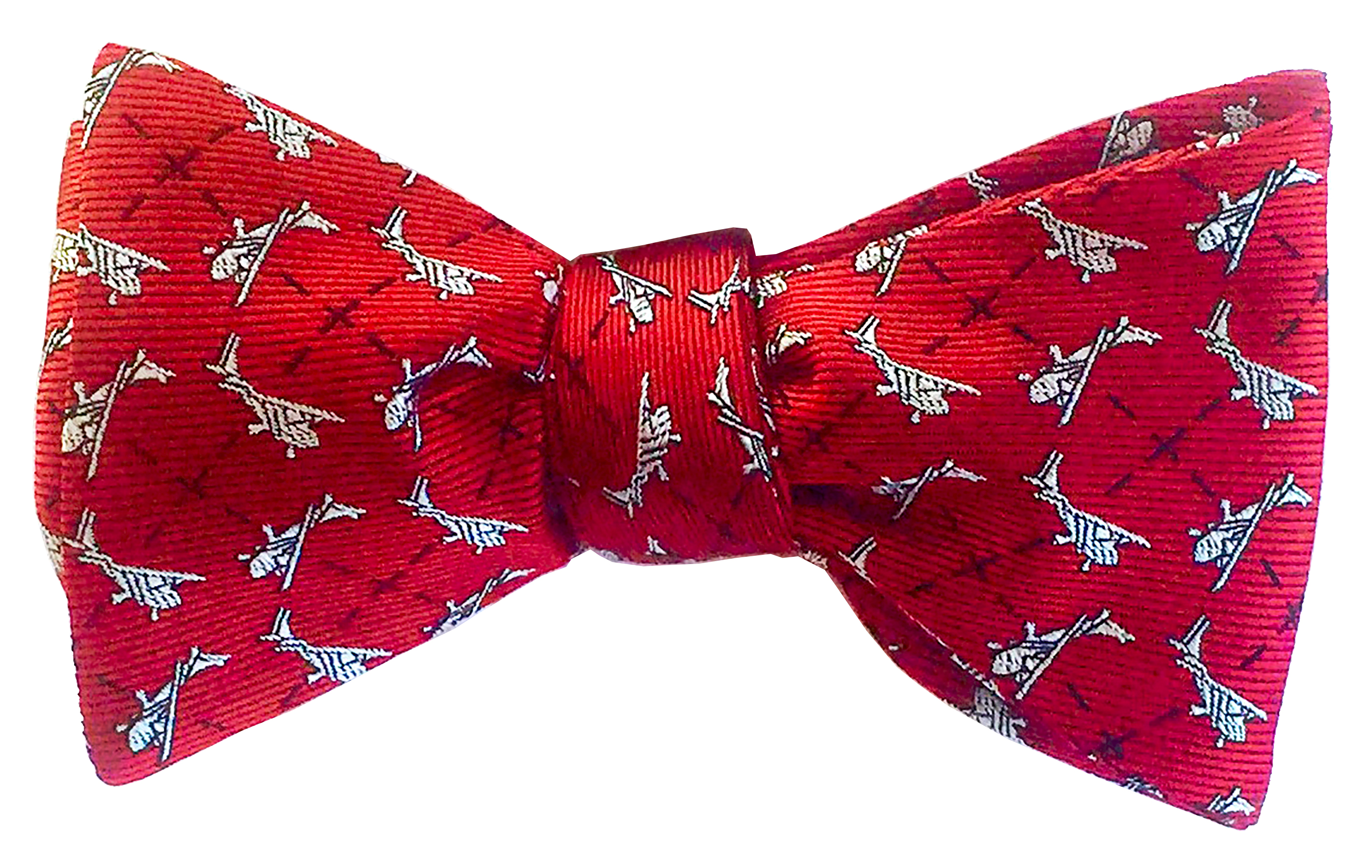 Cessna bow tie in red