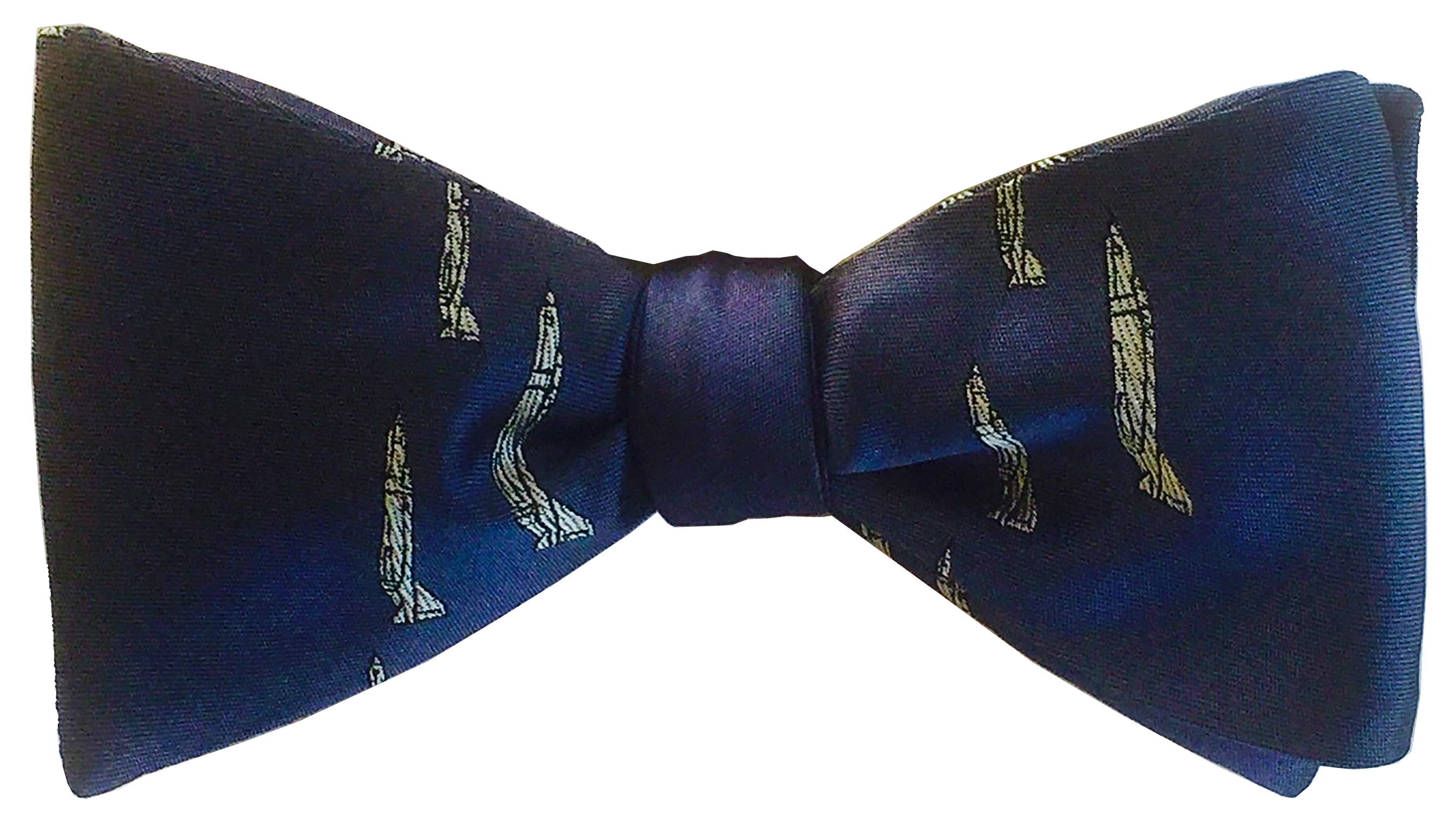 F-4 Phantom bow tie in navy and white