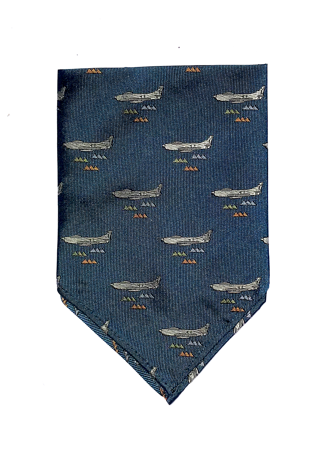 doppeldecker design aviation aircraft airplane pocket square f86