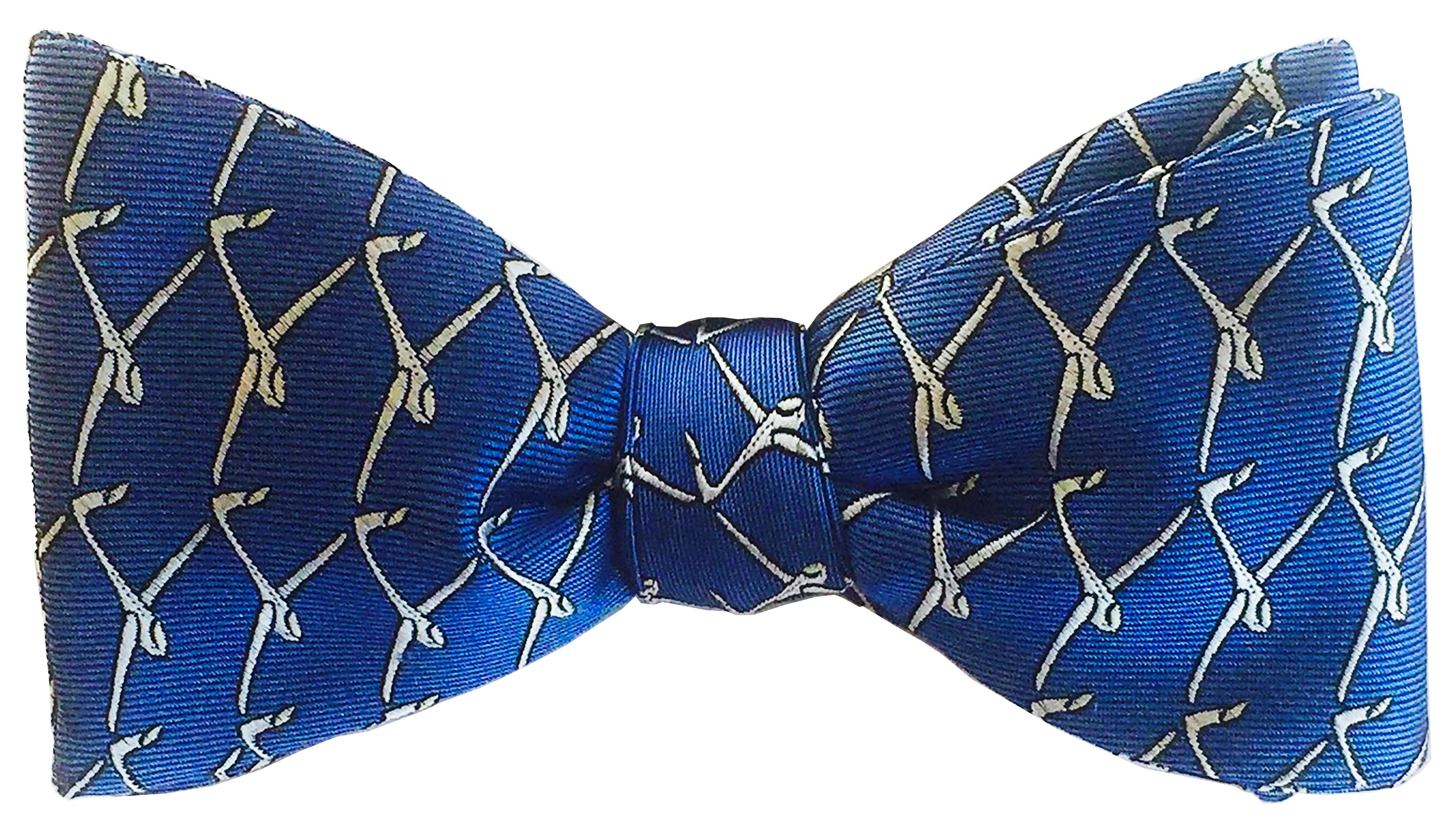 Glider bow tie in true blue