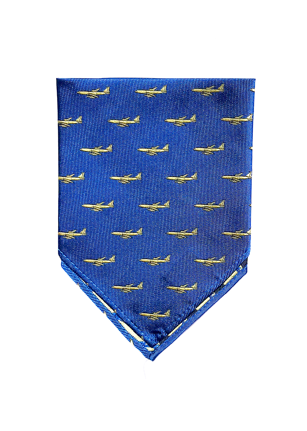 doppeldecker design aviation aircraft airplane pocket square kc135