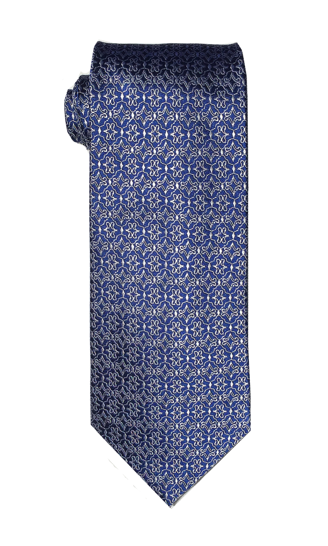 Alpha Lima tie in true blue