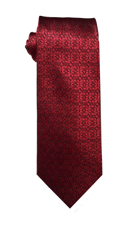 Alpha Lima tie in crimson