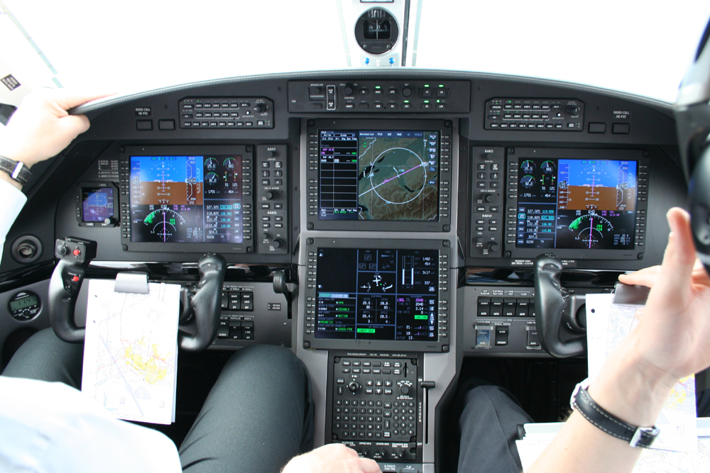 Pilatus PC12 NG flightdeck
