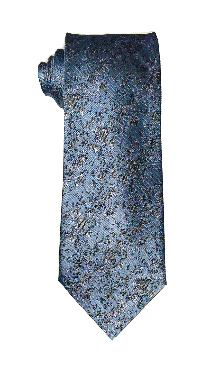 Arctic Drift tie in arctic blue