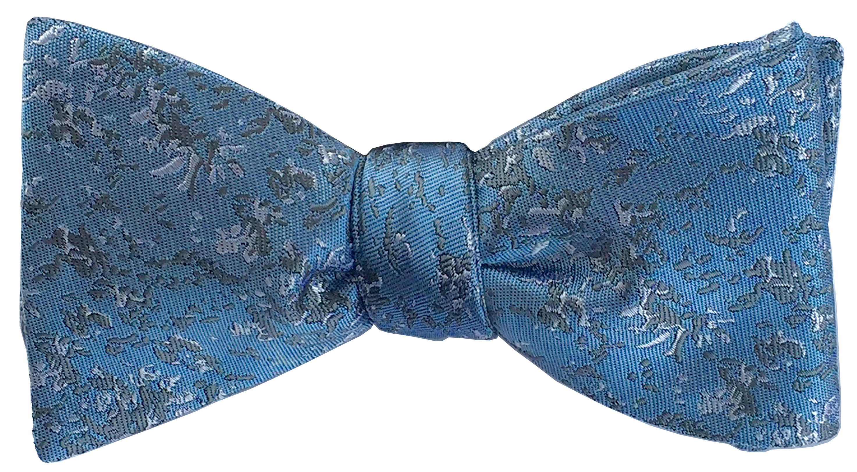 Arctic Drift bow tie in sky blue