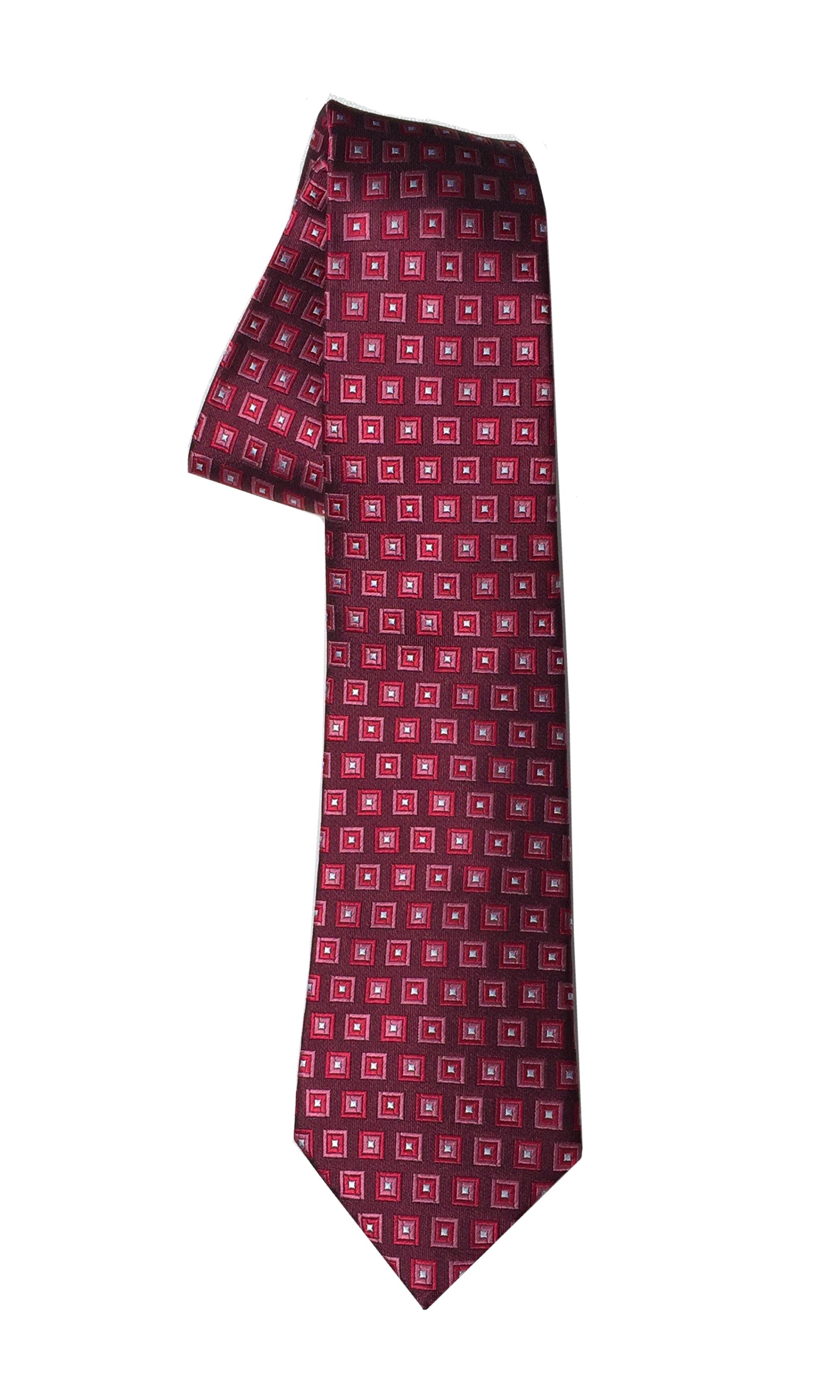 Charlie Bravo tie in rose (slim)