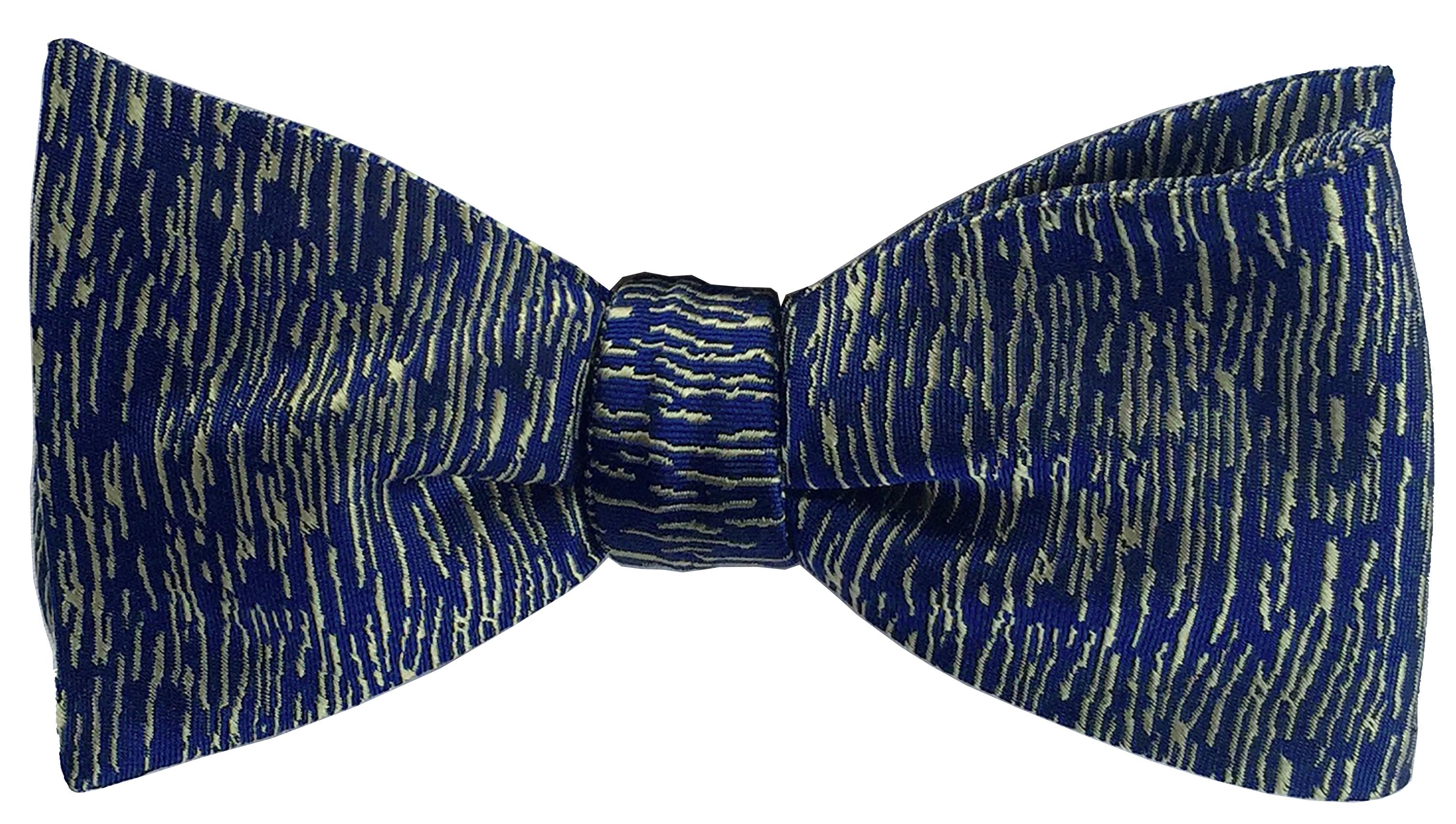 Atlantic Midnight bow tie in royal blue