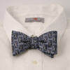 doppeldecker design designer aviation aircraft silk bow tie bowtie a10