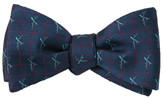 B-52 Stratofortress bow tie in deep teal