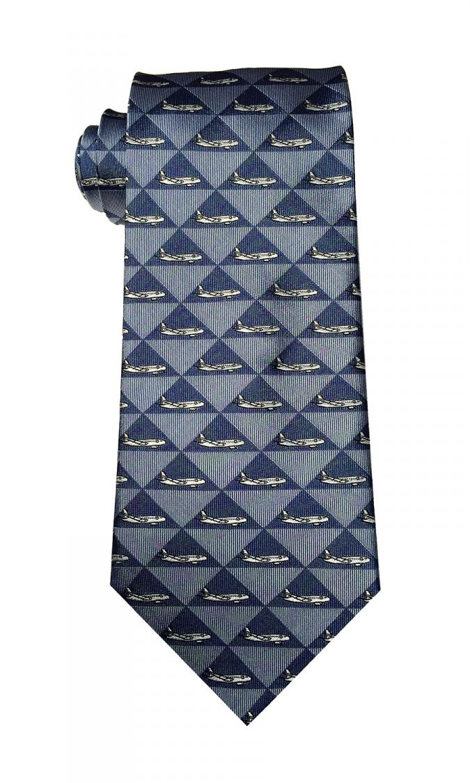 doppeldecker design designer aviation aircraft silk tie a320