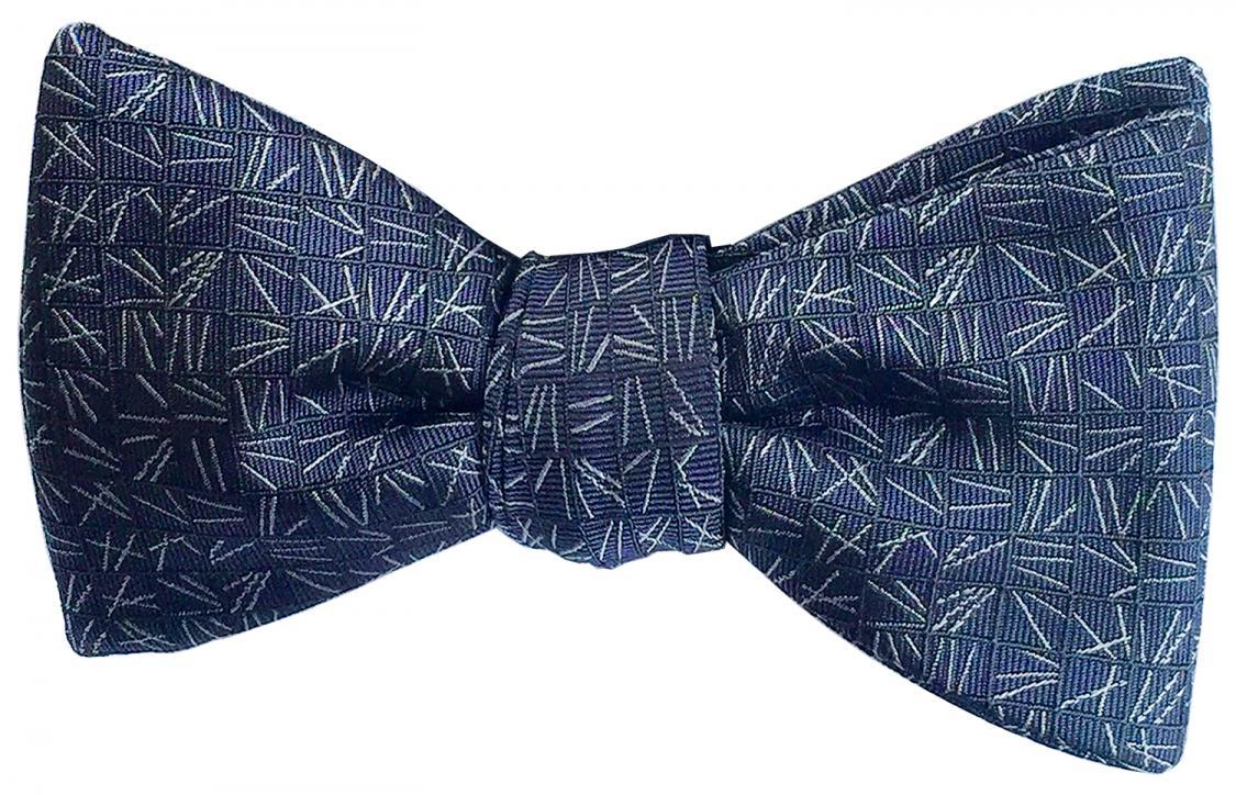 doppeldecker design designer aviation airplane aircraft silk bow tie bowtie scattering pine