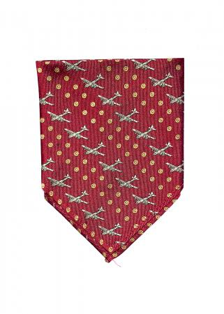 B-29 Superfortress pocket square in red