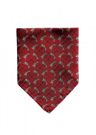 Cessna pocket square in red