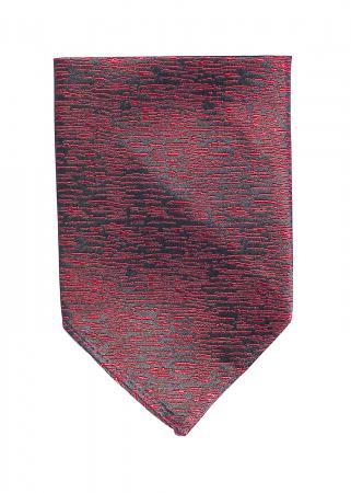 Atlantic Midnight pocket square in ruby