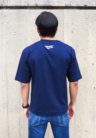 Biplane t-shirt in navy 3