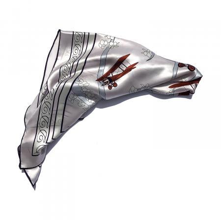 Silk scarf in Acrobatic Biplane 1