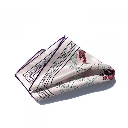 Acrobatic Biplane pocket square