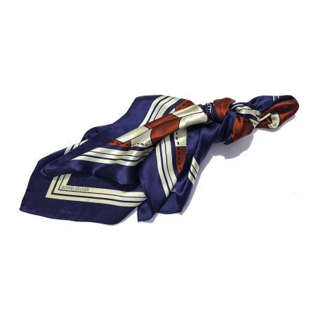 Silk scarf in Biplane Flag 1
