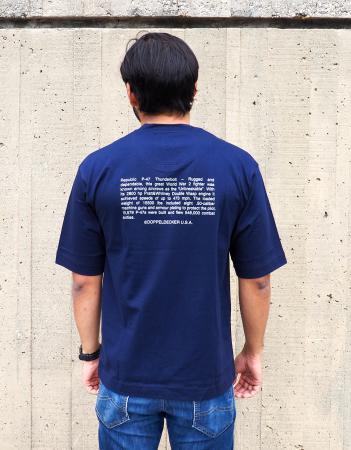 P-47 Thunderbolt t-shirt in navy 2