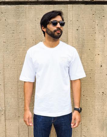 Biplane t-shirt in white 1