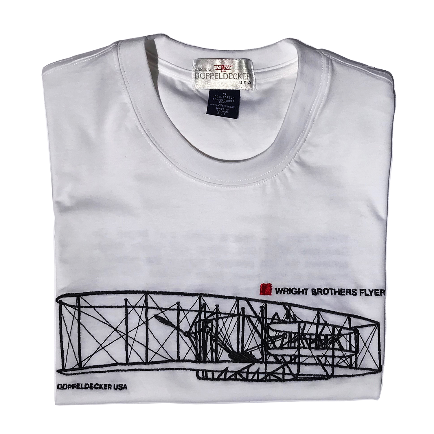 Wright Flyer t-shirt in white