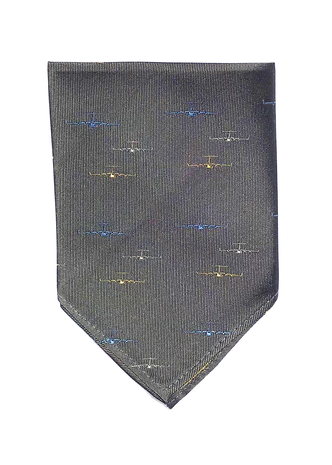 doppeldecker design aviation aircraft airplane pocket square C17