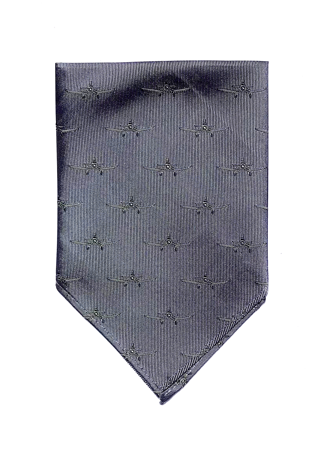 doppeldecker design aviation aircraft airplane pocket square corsair
