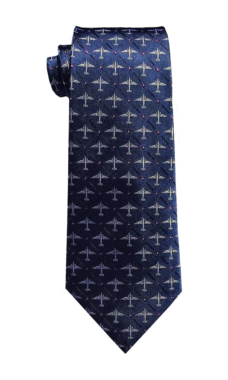 doppeldecker design designer aviation aircraft silk bow tie bowtie dc-3 dc3 c47 c-47