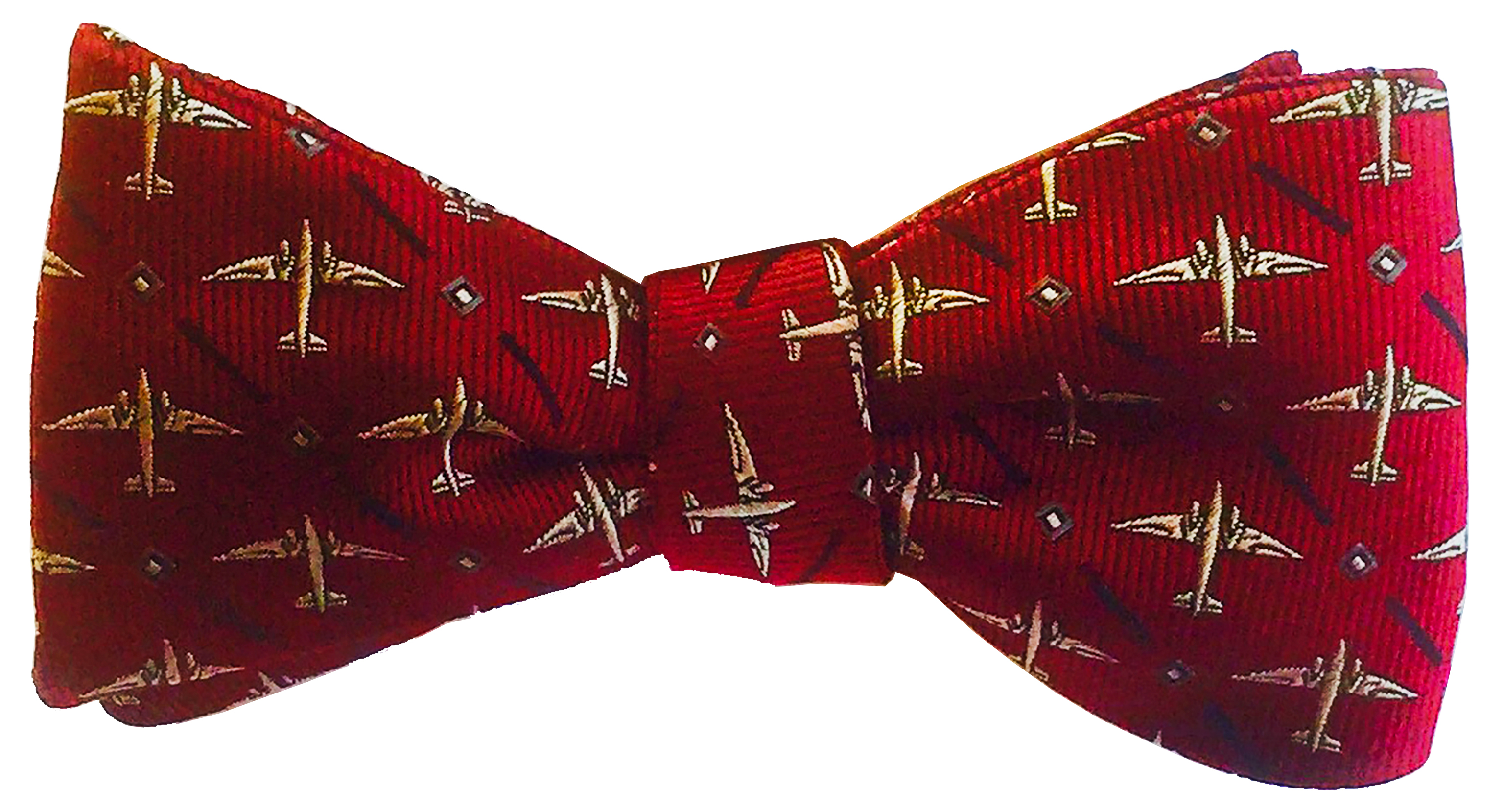 DC-3 Bowtie in Red