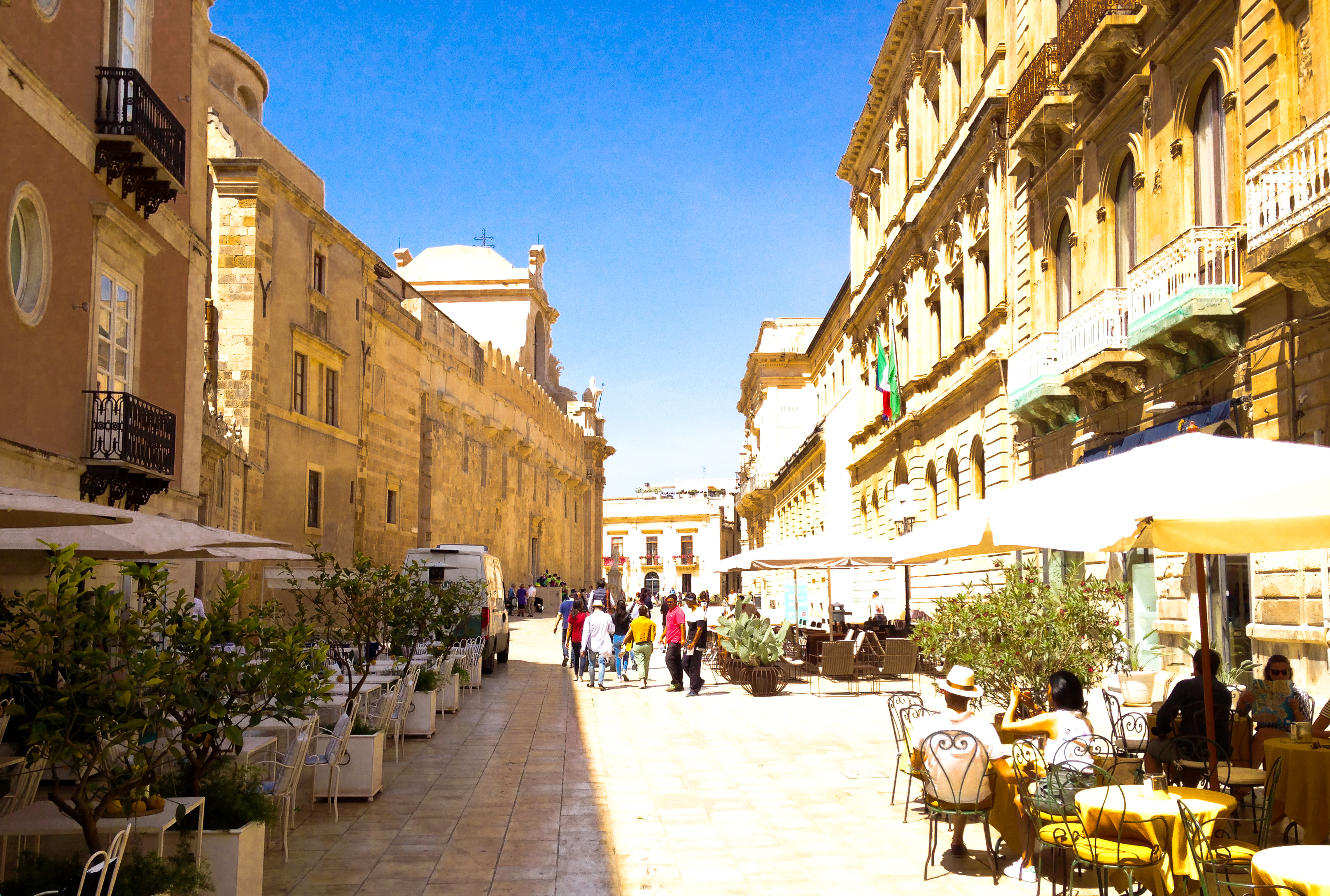 Syracusa Sicily old town