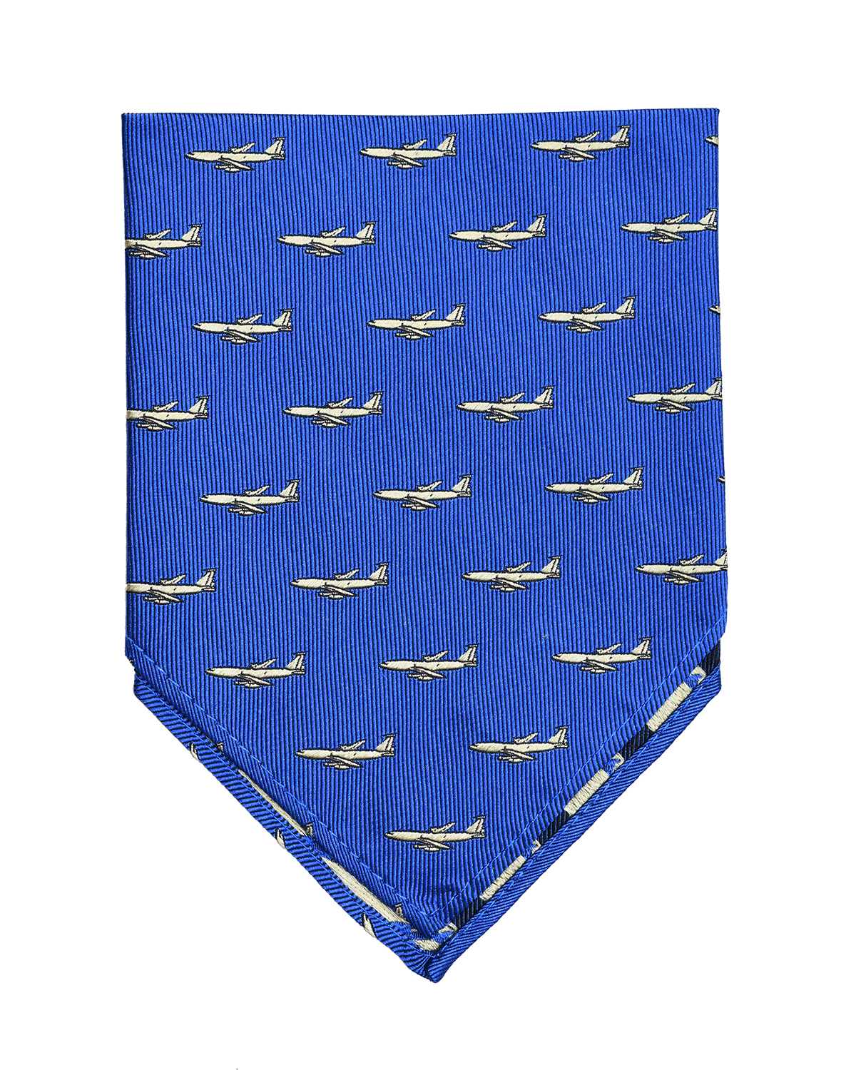 doppeldecker design aviation aircraft airplane pocket square kc-135 kc135