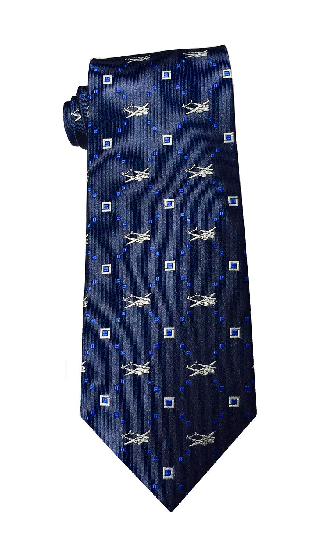 doppeldecker design designer aviation airplane aircraft silk bow tie bowtie p-38 p38