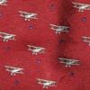 doppeldecker design designer aviation airplane aircraft silk bow tie bowtie biplane