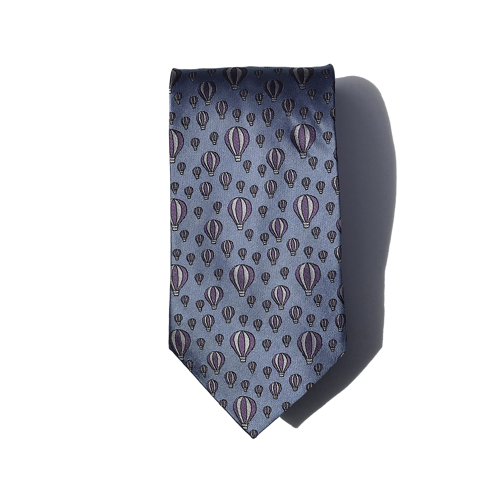sicily hot air balloon tie doppeldecker