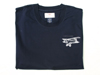 Biplane T-shirt in blue