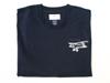 Biplane T-shirt in blue