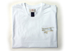 Biplane T-shirt in white