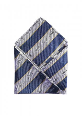 doppeldecker design aviation aircraft airplane pocket square f100