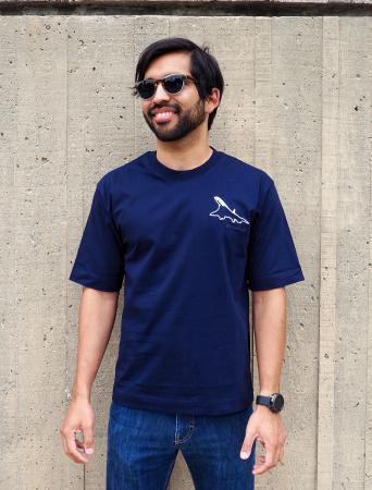 Concorde t-shirt in navy 2