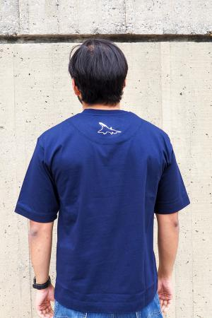 Concorde t-shirt in navy 3