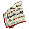 Biplane silk scarf by Doppeldecker Aviation Design
